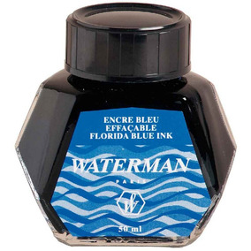Vidro De Tinta Waterman Azul Florida 50ml S0110720