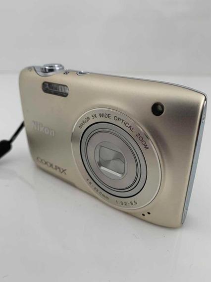 Câmera Fotográfica Digital Nikon Coolpix S3100