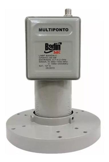 Lnbf Multiponto Banda C Antena Parabólica Via Satélite