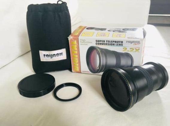 Lente Telefoto Raynox 2.2