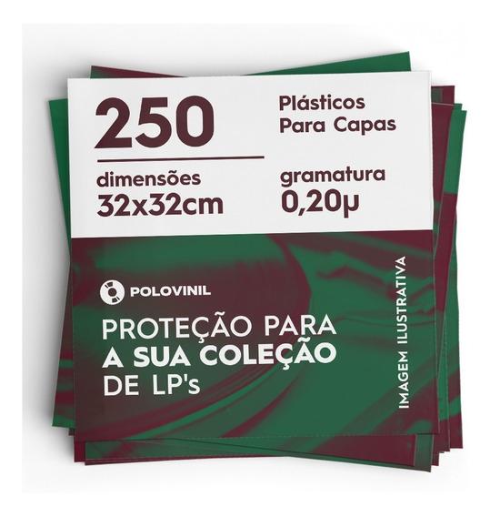 250 Plasticos Externos 0.20 Extra Grosso Capa Do Lp Vinil
