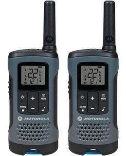 Kit Radios Motorola 32km 20 Millas Puerto Micro Usb T200mc
