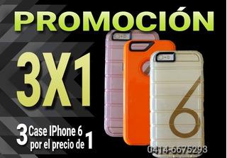 Case iPhone 6g - 6s - 6 Plus 3x1