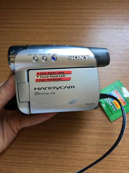 Filmadora Sony Handycam Dcr-hc26 Mini Dv Com Defeito