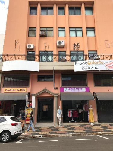 Sala Para Locação No  Centro De Valinhos / Sp - Sa0107