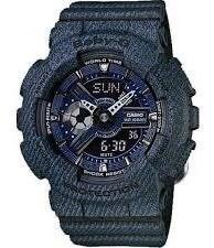 Relógio Baby-g Ba-110dc-2a1dr (jeans)