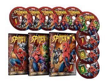 Homem-aranha - Série Animada - Spiderman - Dublado - 9 Dvds