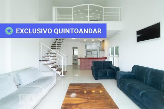 Apartamento No 5º Andar Mobiliado Com 1 Dormitório E 2 Garagens - Id: 892973550 - 273550