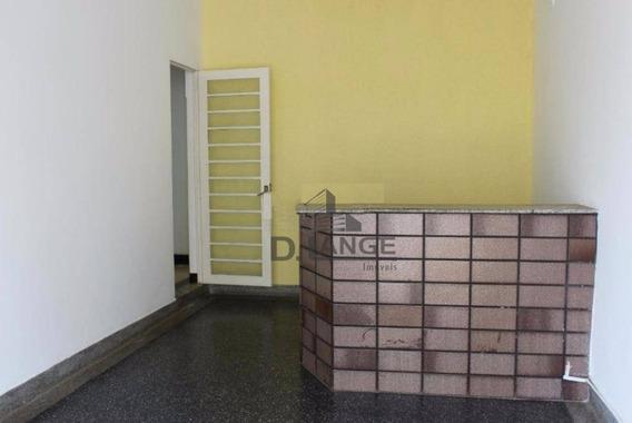 Casa Comercial Em Excelente Ponto Para Alugar Com 139 M² Por R$ 3.200/mês - Centro - Campinas/sp - Ca13501