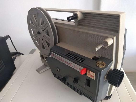 Antigo Projetor 8mm - Ligando
