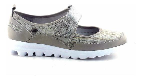 Chatita Cuero Mujer Cavatini Confort Zapato Mccha2948