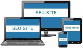 Criação De Website + Hospedagem - Site - Web Design