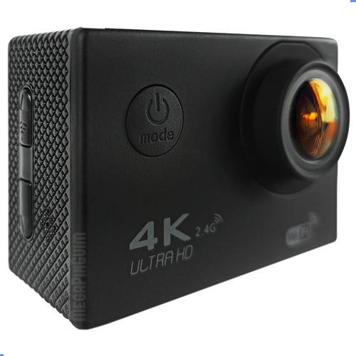 Câmera Filmadora Estilo Gopro 4k Mergulho Moto Full Hd Wifi