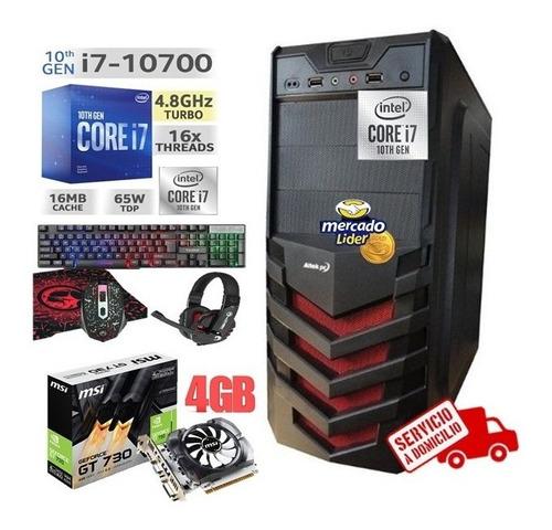 Cpu Intel Core I7 10ma Generacion/1tb 8gb Gt-730 4gb Inc Iva