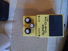 Boss Super Overdrive Sd-1 (pedal Boss Overdrive)