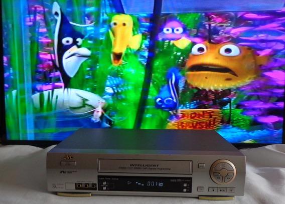 Video Cassete Jvc Hr-j686m Hi-fi Stereo - Funcionando