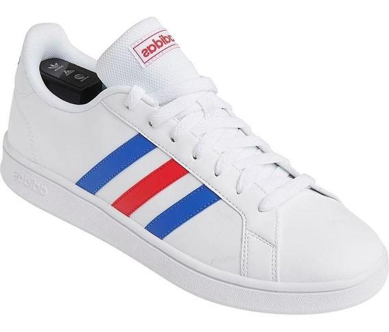 Tênis Casual adidas Masculino Grand Court Ee7901 Leve Branco
