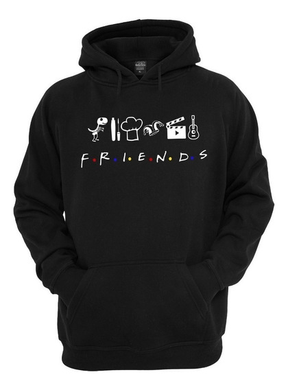 Blusa Canguru Ill Be There For You Friends Casaco