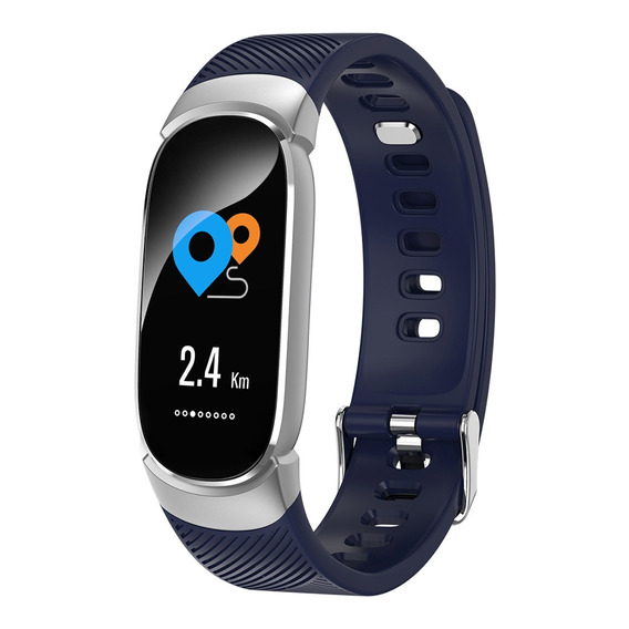 Smart Sports Fitness Activity Tracker Azul Plata