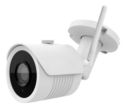 Cámara De Seguridad Longse Tipo Bala Wifi Ip 2 Mp Lbh30s200w