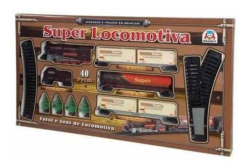 Ferrorama Trem Super Locomotiva 8003 - Braskit