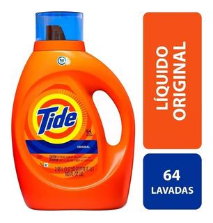 Detergente Tide Original 64 Cargas 2.95 L Producto Americano
