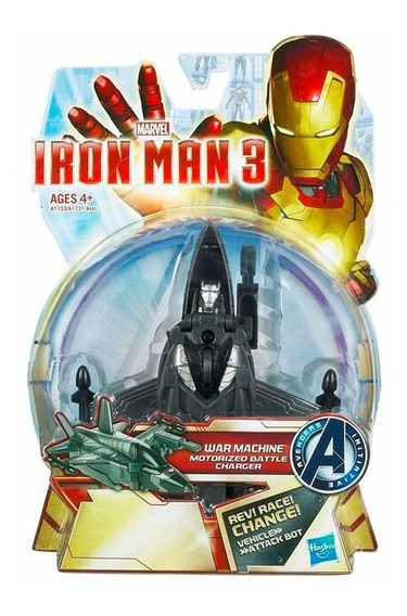 Muñeco Figura De Acción Iron Man 3 Transformable Hasbro Orig