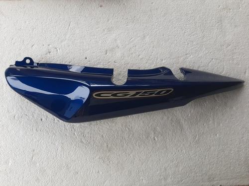 Rabeta Esquerda Cg Titan 150 05 Azul Original Honda