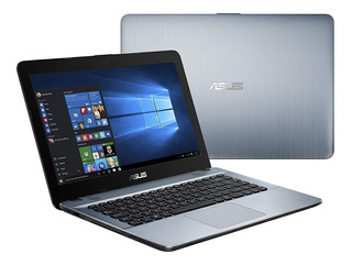 Notebook Asus 14 Amd A6 4gb 500gb Hdmi Win 10 #pe
