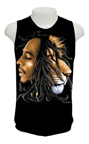 Camiseta Bob Marley 02 - Regata