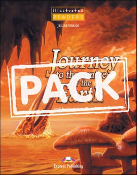 Journey To The Centre Of The Earth - Illustrated Book With C