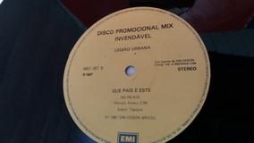 Lps Legião Urbana / 2 Discos Mix (fotos) Por Apenas...