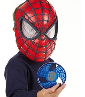 Mascara Vision Luz De Spider Man Original Hasbro
