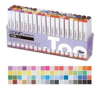 Marcadores De Boceto Copic Conjunto De Colores A (72)
