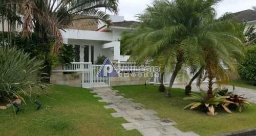 Casa Para Aluguel, 4 Quartos, 2 Suítes, 4 Vagas, Barra Da Tijuca - Rio De Janeiro/rj - 25814