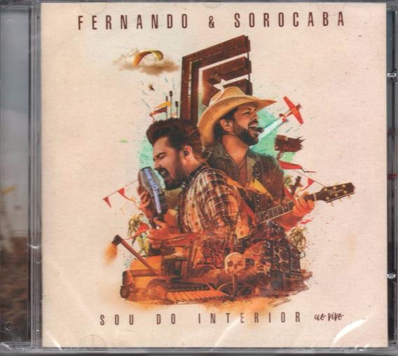 Cd Fernando E Sorocaba - Sou Do Interior - Ao Vivo