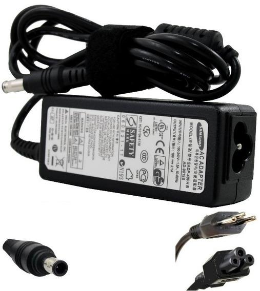 Carregador Para Samsung Cpa09-002a Ad-4019s Np-nc10 Np-nd10
