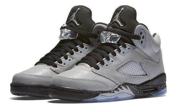 Air Jordan Retro 5 Wolf Grey (gs)