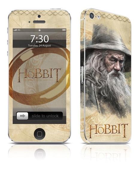 Adesivo Para Celular The Hobbit Gandalf - Para iPhone 5