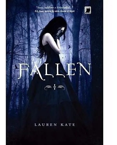 Livro Fallen - Lauren Kate - Volume 1 - Novo - Frete Barato