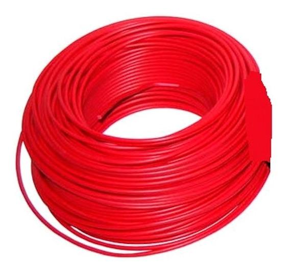 Cable Unipolar Cu08r Calibre 8 Color Rojo 100 Mts Munich