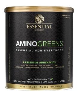 Aminogreens Aminoácidos Essenciais 240g Essential Nutrition