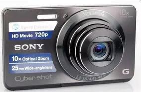 Câmera Digital Sony Dsc-w690 16.1 Mp C/ 10x Zoom