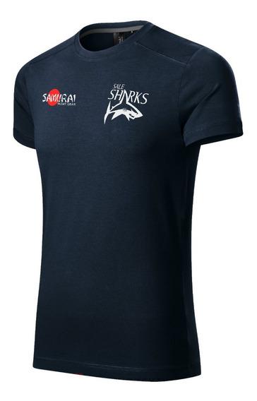 Remera Sale Sharks- Rugby Algodon Premium