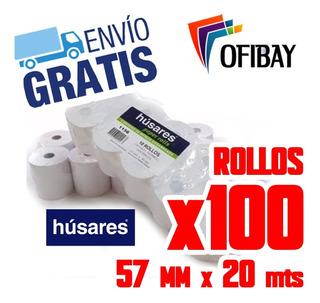 Rollos Termico Carga Virtual Husares 1120 57x20 Moretti 57mm