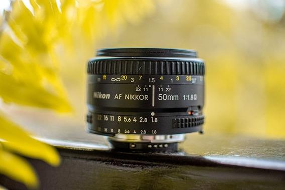 Lente Nikkor 50mm 1.8d