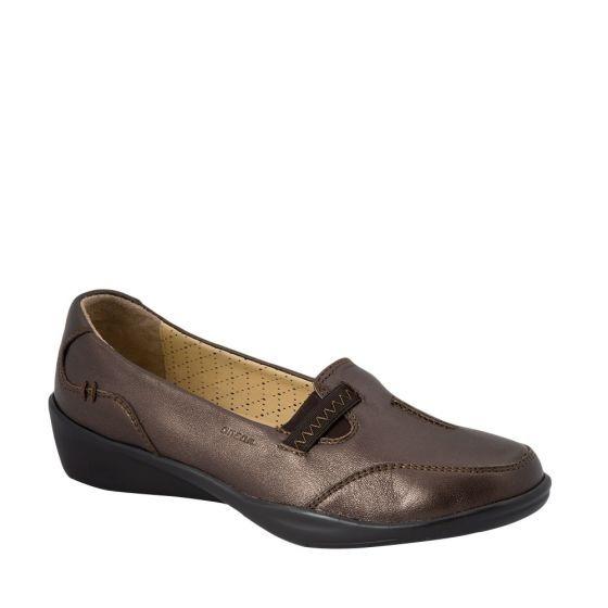 Zapato Dama Piel Doble Ancho Acojinado Onena 1144 Cof 178788