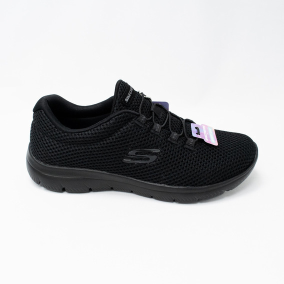 Tênis Skechers 12985 Summits Quick Lapse All Black