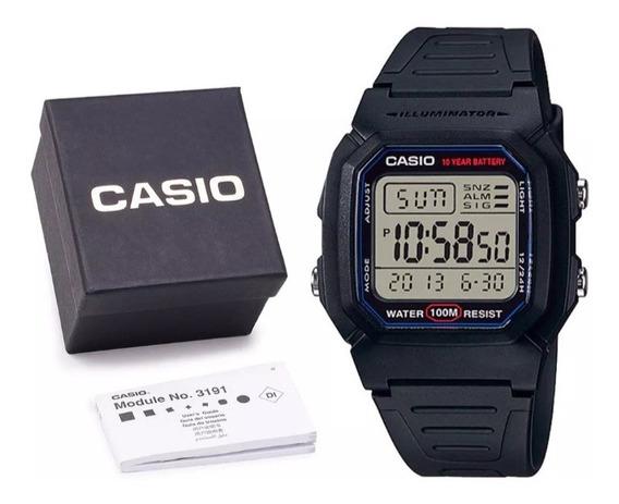 Relogio Casio Digital W800h Original