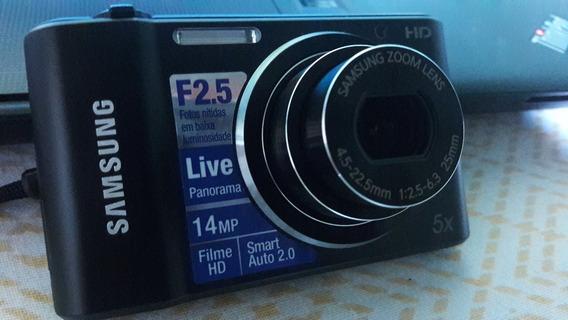Câmera Digital Samsung St64 14. Mp Full Hd